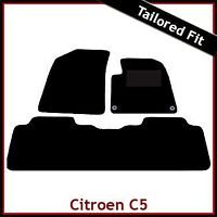 CITROEN C5 Mk1 2001-2007 Tailored Fitted Carpet Car Floor Mats BLACK