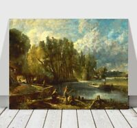 JOHN CONSTABLE - Stratford Mill - CANVAS ART PRINT POSTER -16x12""