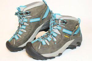 KEEN Womens Size 6 36 Targhee II Waterproof Leather Lace Up Hiking Boots 1010137