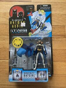 Batman & Robin Adventures Wind Blitz Batgirl figure Duo Force MOC Kenner 1997
