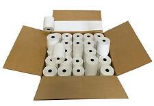 "3-1/8"" x 230' (100 Rolls) Thermal Paper 3"" diameter Cash Register Rolls BPA Free"
