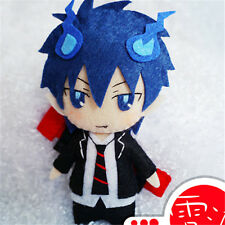 "5"" Anime Ao No Exorcist Okumura Rin DIY Doll Weaving Material key chain Cosplay"