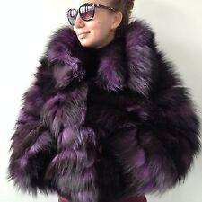 SALE  S - M    Fur real fox beautiful  spectacular  jacket coat