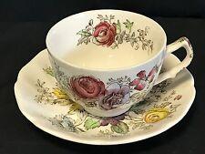 Beautiful Johnson Bros Sheraton Cup & Saucer Set made in England