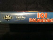 101 Dalmatians - Walt Disney Home Video The Classics Black Diamond - VHS 1992