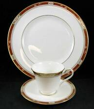 Royal Doulton SANDON Trio Dinner Plate, Cup & Saucer H5172 SHOWROOM INVENTORY