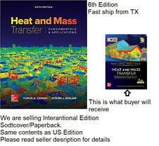 (4-6 Days delivery from TX) Heat And Mass Transfer 6th Edition