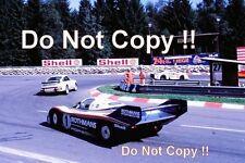 JACKY ICKX & Jochen Mass Rothmans Porsche 956 Spa 1000 km de la photographie de 1982