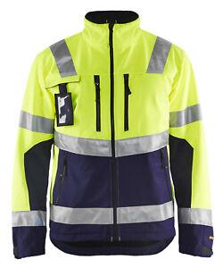 Blaklader High Vis Soft-Shell Jacket - 4900