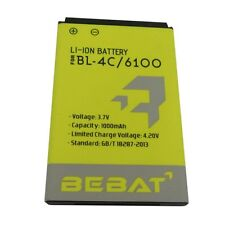 BEBAT 1000mAh Replacement Battery for NOKIA BL-4C 6100 6300 2220S 3500C X2-00