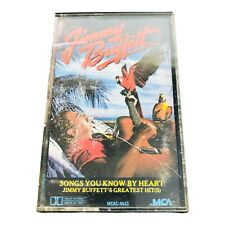 Songs You Know by Heart: Jimmy Buffett Greatest Hits (Cassette, 1985)