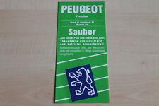 94863) Peugeot 205 Cabrio 405 309 605 - Preise & Extras - Prospekt 09/1991