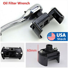 Auto Tool Oil Filter Wrench Cup 12 Housing Spanner Remover 60 80mm Adjustable