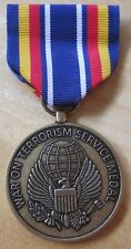 War on Terrorism Service MEDAL with RIBBON