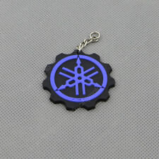 Cool Motorcycle Rubber Keyring Keychain Key Chain Key Ring For YAMAHA YZF Blue