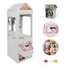 Used 110V Carnival Claw Game Machine Mini Arcade Grabber Crane w/ Led Lights
