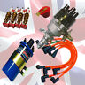 MGB Electronic Ignition Distributor Pack , Coil, HT Leads & Sparkplugs 1974 on
