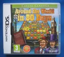 ★☆☆ Nintendo DS game - Around the World in 80 Days ☆☆★