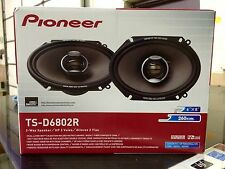 "Pioneer TS-D6802R (tsd6802r) 6"" x 8"" 2-way D Series Car Speakers 520 WATTS"