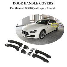 für Maserati Levante Ghibli 2013-2019 Carbon Griff Türgriff Außentürgriff  8PCS