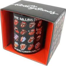 Rolling Stones: Tongue Evolution Ceramic Coffee Mug - New & Official In Box