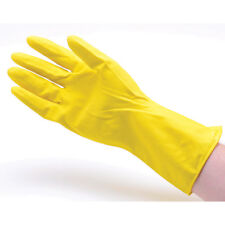 """San Jamar-Chef Revival 620 Rubber Gloves 12"""" Yellow, Size Large"""