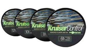 Korda Kruiser Control Surface Float Floater Zig Line 150m Fishing Line