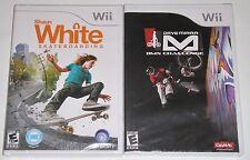 Nintendo Wii Game Lot - Shaun White Skateboarding (New) Dave Mirra BMX Challenge