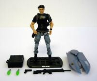 GI JOE HAWK Rise of Cobra Action Figure COMPLETE C9+ v4 2009