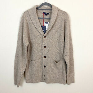 Cremieux Classics wool sweater size L NWT $150