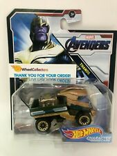 Thanos * 2019 Hot Wheels MARVEL Avengers Character Cars Case L