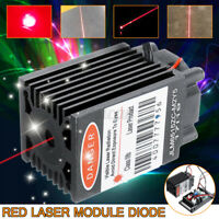 150mW 650nm 655nm 660nm Red Laser Module Diode with TTL Industrial Focusable 12V