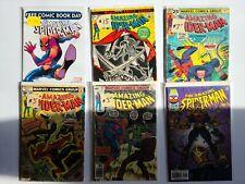 6 Amazing Spiderman Marvel comics Fair / Good Lot