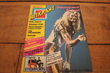 HITKRANT # 11 81 VAN HALEN STRAY CATS MAIDEN HEAVY METAL MOTORHEAD LUV ADAM ANT