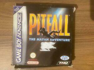 PITFALL THE MAYAN ADVENTURE - GAME BOY ADVANCE GBA / SP, DS, LITE