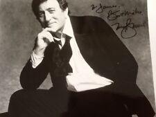 Tony Bennett SIGNED 8x10 Photo  Singer Grammy Winner  Heart in SF   Legend