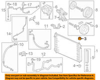 HONDA OEM Civic A//C AC Condenser//Compressor//Line-Condenser Insulator 80106SDRA00