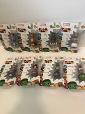 Marvel Tsum Tsum 3 pack Series 1 Lot Of 8