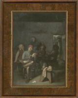 L. Tatler - Signed & Framed Mid 20th Century Oil, Dutch Tavern Scene