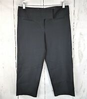 MAURICES Cropped Dress Pants Black Capri 7/8 Womens Capri
