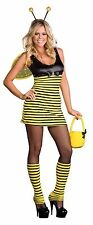 BUZZIN' AROUND QUEEN BUMBLE BEE ADULT HALLOWEEN COSTUME WOMEN'S SIZE SMALL