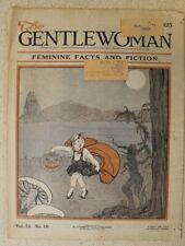 Gentlewoman October, 1925 Halloween Cover