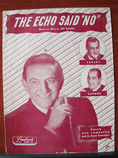 "The Echo Said ""No"" -1947 sheet music Vocal Piano Guitar - Guy Lombardo"