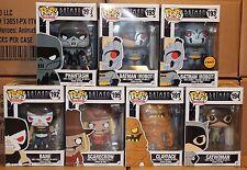 Funko POP BTAS Series 2 Robot Batman Chase Phantasm Bane Scarecrow Complete!!!