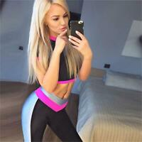 Fashion Women's Sport Yoga Gym Rompers Suit Fitness Workout Jumpsuit Bodysuits