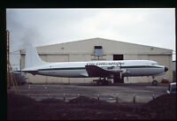 Orig 35mm airline slide Air Atlantique DC-6 G-SIXC [212-5]
