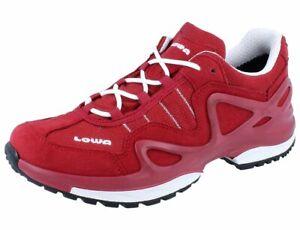 LOWA Gorgon GTX Ws Damen Outdoor/Fitness Schnürschuhe rot/weiss