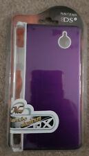 Nintendo DSi Aluminum Hard Plastic Shell Skin Case - Purple