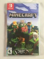Minecraft (Nintendo Switch, 2018) mint played once ship out same day paid