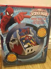 Marvel Ultimate Spiderman Cuna Cama Junior Edredón Set Nuevo
